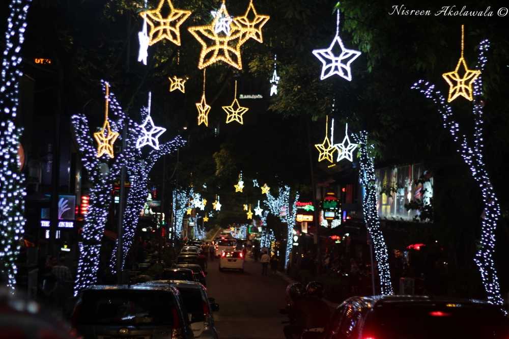 Vibrant nightlife in Bukit Bintang