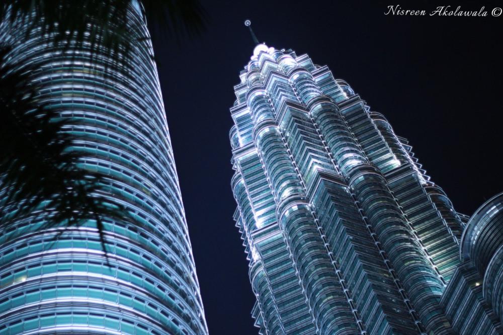 Petronas Towers by night Kuala Lumpur